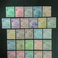 Sellos: SELLOS DE VENEZUELA. YVERT 557/64 + A-632/44. SERIE COMPLETA USADA.. Lote 58641801