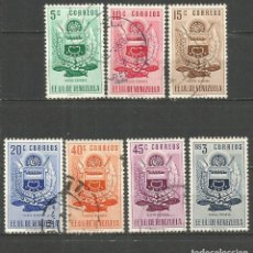 Sellos: VENEZUELA YVERT NUM. 501/507 SERIE COMPLETA USADA. Lote 61392379