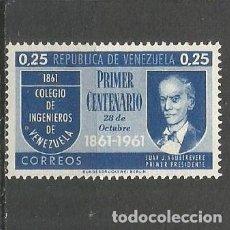 Sellos: VENEZUELA YVERT NUM. 645 * SERIE COMPLETA CON FIJASELLOS. Lote 61462307