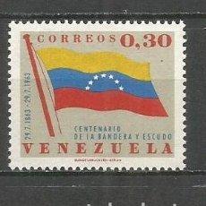 Francobolli: VENEZUELA YVERT NUM. 678 * SERIE COMPLETA CON FIJASELLOS. Lote 61463191