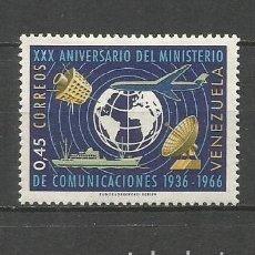Sellos: VENEZUELA YVERT NUM. 754 * SERIE COMPLETA CON FIJASELLOS. Lote 61470159