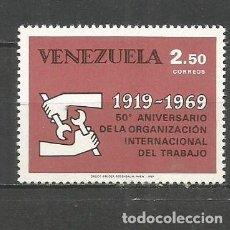 Sellos: VENEZUELA YVERT NUM. 780 * SERIE COMPLETA CON FIJASELLOS. Lote 61471007