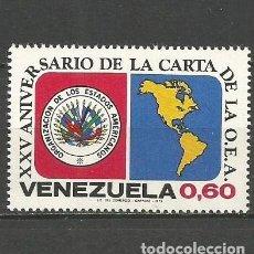 Sellos: VENEZUELA YVERT NUM. 876 * SERIE COMPLETA CON FIJASELLOS. Lote 61494871