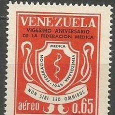 Sellos: VENEZUELA CORREO AEREO YVERT NUM. 858 * SERIE COMPLETA CON FIJASELLOS. Lote 61606848