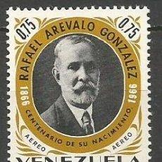 Sellos: VENEZUELA CORREO AEREO YVERT NUM. 894 * SERIE COMPLETA CON FIJASELLOS. Lote 61607628