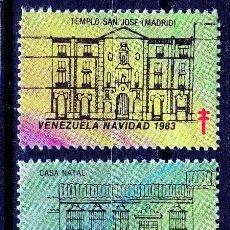 Sellos: VENEZUELA. 1983.VIÑETA FELICES PASCUAS,PRO TUBERCULOSIS. *,MH ( 21-175). Lote 61759932