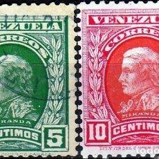 Sellos: VENEZUELA.1911, LIDERES DE LA GUERRA REVOLUCIONARIA. */**.MH/MNH. Lote 68125621