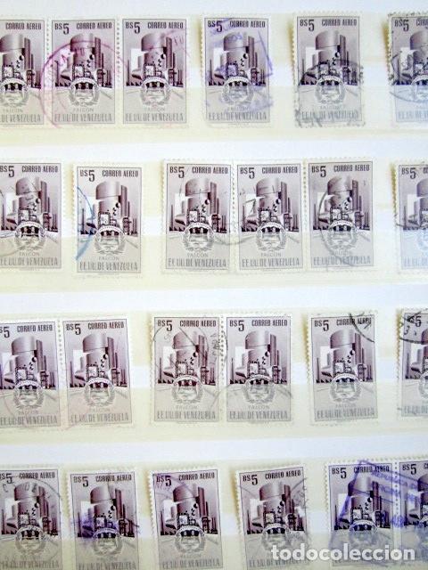 Sellos: COLECCIÓN DE SELLOS DE VENEZUELA. SUMA MÁS DE 6.000 EUROS CATÁLOGO YVERT 2010. - Foto 10 - 80702754