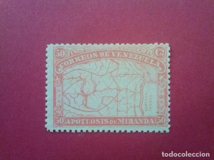 VENEZUELA YVERT Nº 57 ** GOMA ORIGINAL SIN CHARNELA, 1896 , GENERAL MIRANDA (Sellos - Extranjero - América - Venezuela)