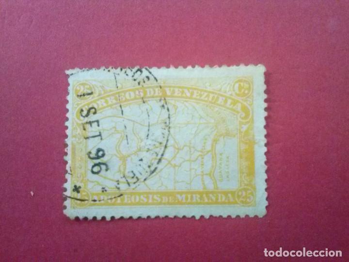 VENEZUELA YVERT Nº 56, 1896 , GENERAL MIRANDA (Sellos - Extranjero - América - Venezuela)