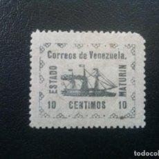 Sellos: VENEZUELA YVERT Nº 93 VAPOR BANRIGH , BARCOS , 1903. Lote 83306160