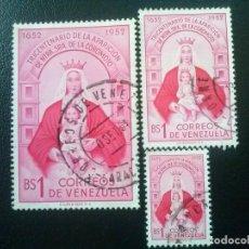 Sellos: VENEZUELA YVERT Nº 420 421 422 . Lote 83311016