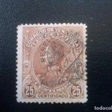 Sellos: VENEZUELA CARTAS RECOMENDADAS , YVERT Nº 2 * CON CHARNELA. Lote 83353384