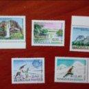 Sellos: VENEZUELA YVERT 702/06*** LUJO 1964 TURISMO. Lote 88161312