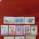 Sellos: VENEZUELA YVERT 910/922 CON CHARNELA AÑO 1967 CARACAS. Lote 88293712