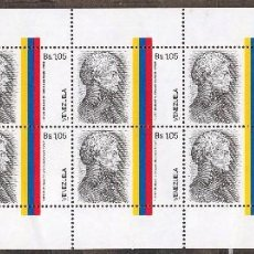 Sellos: VENEZUELA / 1986 / MNH / SC#1356 /FRANCISCO DE MIRANDA / LIBERTADOR DE AMERICA. Lote 90806860