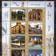 Sellos: VENEZUELA / 2010 / MNH / SC#1687-1688 / CARACAS / ARQUITECTURA / (2 FOTOS). Lote 90808750