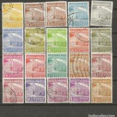 Sellos: VENEZUELA CORREO AEREO YVERT NUM. 632/644 SERIE COMPLETA USADA. Lote 102186055