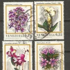 Francobolli: VENEZUELA YVERT NUM. 806/809 SERIE COMPLETA USADA. Lote 103217283