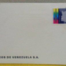 Sellos: SOBRE CON SELLO DE VENEZUELA. 1A. EMISIÓN 1978 CENTENARIO DE LA INDUSTRIA PETROLERA VENEZOLANA. Lote 103326887