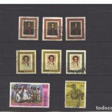 Sellos: VENEZUELA 1966 - 8 SELLOS - USADOS. Lote 104099947