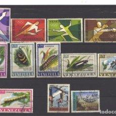 Sellos: VENEZUELA 1968 - 12 SELLOS - USADOS. Lote 104100027