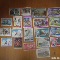 Sellos: 20 SELLOS USADOS VENEZUELA . Lote 108716419