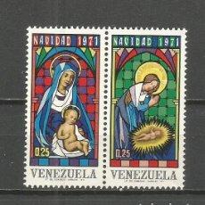 Sellos: VENEZUELA YVERT NUM. 837/838 ** SERIE COMPLETA SIN FIJASELLOS. Lote 111872295