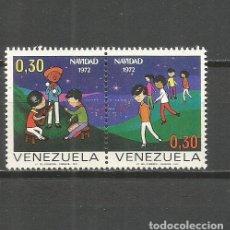 Sellos: VENEZUELA YVERT NUM. 850/851 ** SERIE COMPLETA SIN FIJASELLOS. Lote 111872387