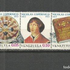 Sellos: VENEZUELA YVERT NUM. 858/860 ** SERIE COMPLETA SIN FIJASELLOS. Lote 111872435