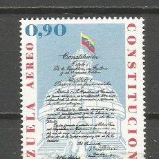 Sellos: VENEZUELA CORREO AEREO YVERT NUM. 1021 ** SERIE COMPLETA SIN FIJASELLOS. Lote 111872551