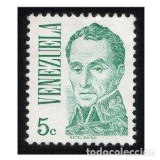 Sellos: VENEZUELA 1976. MICHEL 2022A, YVERT 968. PINTURA. SIMÓN BOLÍVAR. USADO. Lote 112228887