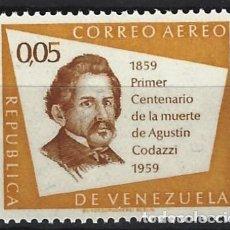 Sellos: VENEZUELA / AEREO - SELLO NUEVO. Lote 113174503