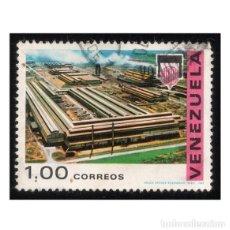 Sellos: VENEZUELA 1969. MICHEL VE 1795, YVERT VE 787. INDUSTRIA. COMPLEJO INDUSTRIAL (CARORA). . Lote 114045471