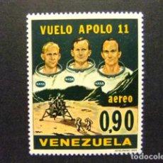 Sellos: VENEZUELA 1969 APOLLO XI ASTONAUTAS YVERT PA 977 ** MNH. Lote 116385855
