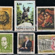 Sellos: VENEZUELA - LOTE DE 10 SELLOS - VARIOS (USADO) LOTE 21. Lote 117705403