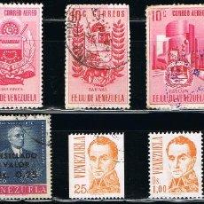 Sellos: VENEZUELA - LOTE DE 10 SELLOS - VARIOS (USADO) LOTE 30. Lote 118715267