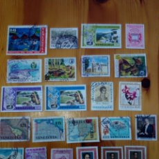 Sellos: LOTE 23 SELLOS VENEZUELA 1956 1970. Lote 129625328