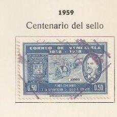 Sellos: VENEZUELA . 1959. AÉREO. YT Nº 680/682. Lote 133606086