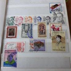 Sellos: LOTE DE 15 SELLOS DE VENEZUELA.AÑOS 70.CIRCULADOS. Lote 136275802
