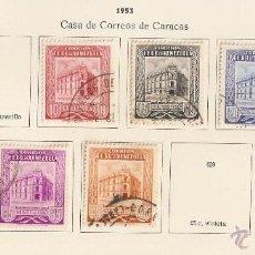 Sellos: VENEZUELA.1953. YVERT Nº 422A/430.FALTAN 423,429. Lote 142130042