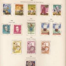 Sellos: VENEZUELA . 1964. AÉREO. YVERT Nº LOTE 1964. 800 A 813. Lote 142131042
