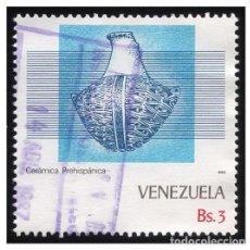 Sellos: VENEZUELA 1987. MI 2405. CERÁMICA PREHISPÁNICA. USADO. Lote 142557662