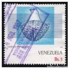 Sellos: VENEZUELA 1987. MI 2405. CERÁMICA PREHISPÁNICA. USADO. Lote 142557710
