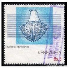 Sellos: VENEZUELA 1987. MI 2405. CERÁMICA PREHISPÁNICA. USADO. Lote 142557882