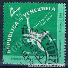 Sellos: VENEZUELA 1962 SELLO USADO Y 675. Lote 144911302