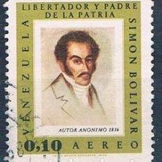 Sellos: VENEZUELA 1966 SELLO USADO Y PA896 . Lote 144911478