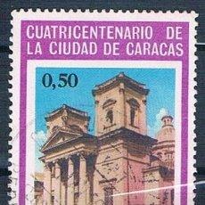 Sellos: VENEZUELA 1967 SELLO USADO Y PA913. Lote 144911694