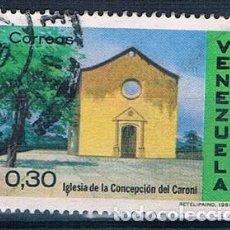 Sellos: VENEZUELA 1970 SELLO USADO MI 1818. Lote 144911870