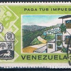 Sellos: VENEZUELA 1974 SELLO USADO Y 911. Lote 144912022